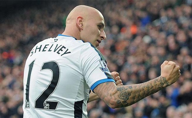 Jonjo Shelvey No12 Newcastle United